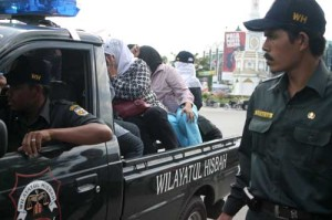 Aceh's Sharia Gestapo in Action