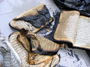 Ahmadiyah burned Koran in Cisalada