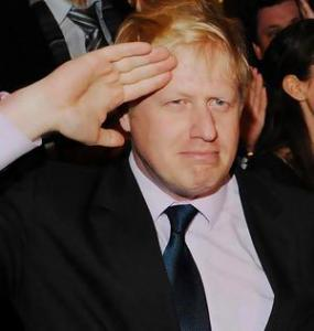 Miffed ... Boris Johnson.