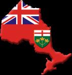 Ontario-flag-contour
