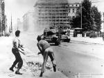 Geschichte / Deutschland / 20. Jh. / West-Berlin 1949-1990 / Ereignisse / 1953 / 17.Juni / Panzer, Polizei