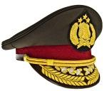 Indonesian_National_Police_General's_Visor_Hat