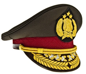 Indonesian_National_Police_General's_Visor_Hat