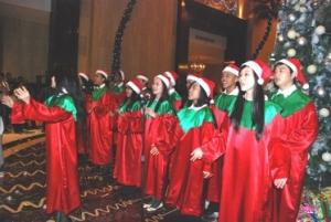 Christmas Tree Lighting Ceremony at The Ritz-Carlton, Jakarta 1 December 2010 (2)