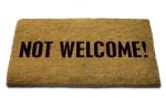 Not Welcome! Doormat