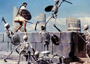 skeletons clash