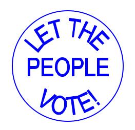 referndmlet peole vote