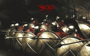 SpartanSoldiersInPhalanxFormation