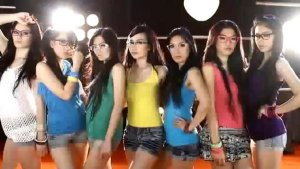 seksi 7 icons_girl band indonesia_wallpaper