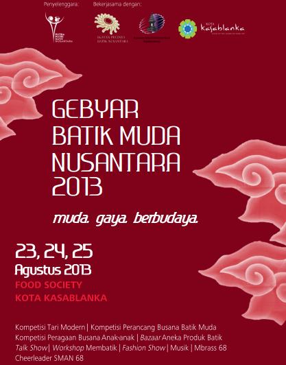 Batik Expo Jakarta 23rd 24th 25th August Rossrightangle