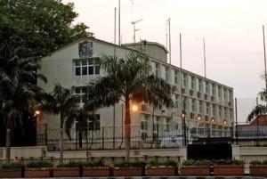 Brit embassy
