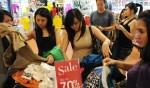 women shopping in Jakarta