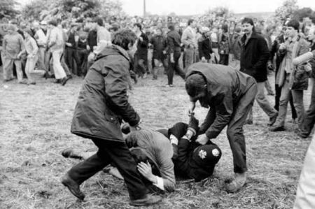 police orgreave