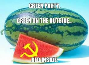 green party red