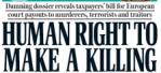 huma rights killing