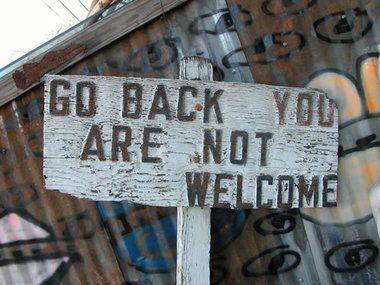 gobackyouarenotwelcome