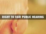 fair hearing