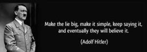 lies hitler
