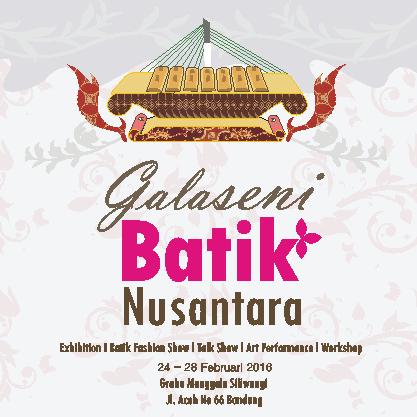 Galaseni Batik Nusantara Bandung 24 28th February Rossrightangle