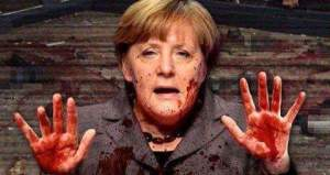 merkel bloodhands