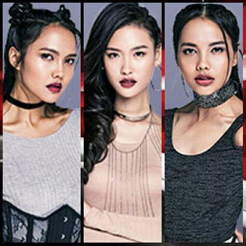 Hasil gambar untuk Asia's next top model twins indonesia valerie veronika