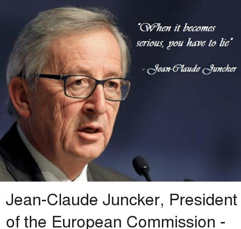 Juncker Liar Juncker