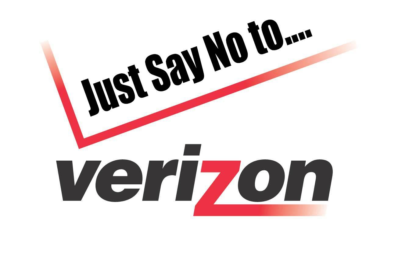 Hasil gambar untuk say no to verizon