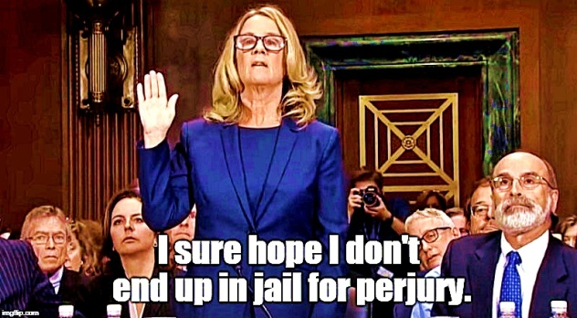 Image result for blasey ford liar